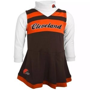 Other - 🌺 3 FOR $30🌺 Cleveland Browns Dress 2-Piece